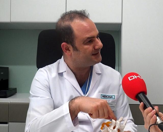 Dr. Yiğitalp: Bel fıtığı şüphesiyle gelenlerin yüzde 95'inde bel fıtığı çıkmıyor