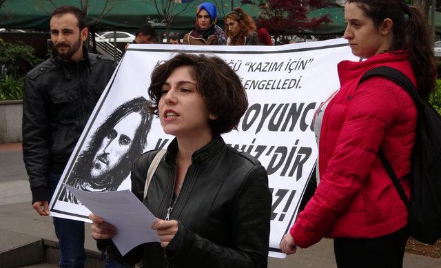 Kazım Koyuncu'yu kampüste anmaya izin verilmemesine tepki