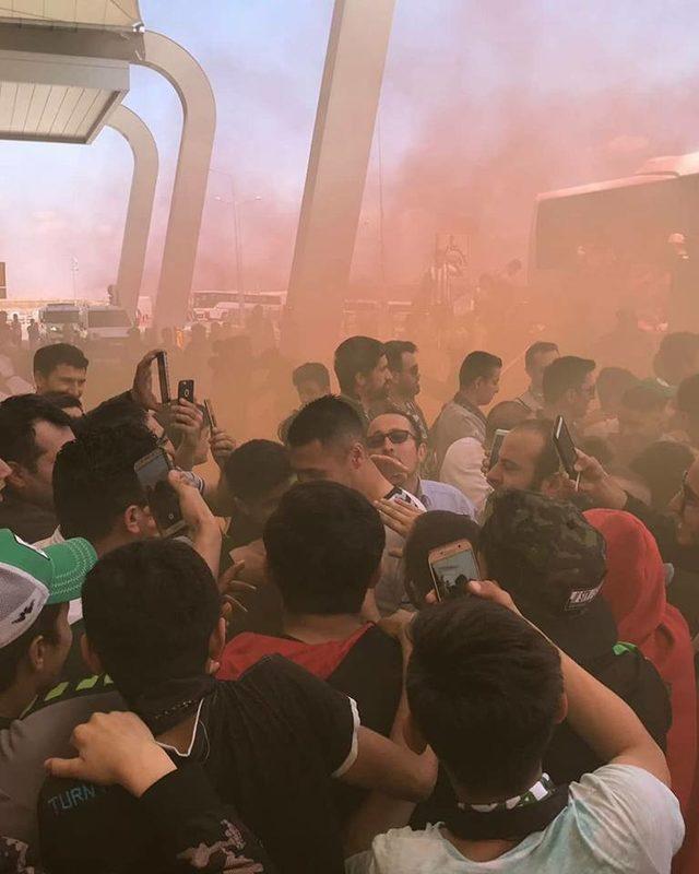 Atiker Konyaspor'a coşkulu uğurlama