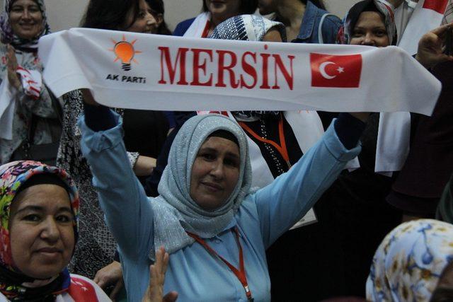 AK Parti Kadın Kollarında Öner, güven tazeledi