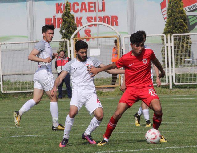Kocaeli Birlikspor - Mersin İdmanyurdu: 2-2