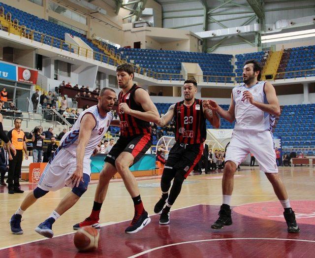 Tahincioğlu Basketbol Süper Ligi: Trabzonspor: 73 - Eskişehir Basket: 86
