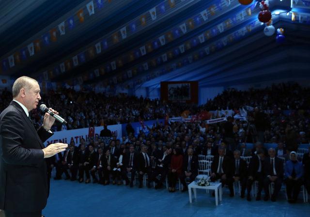 Erdoğan: Onunla beraber gitmek isteyenler buyursun gitsin