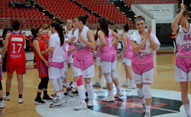 AGÜ Spor - Mersin BŞB: 40-79