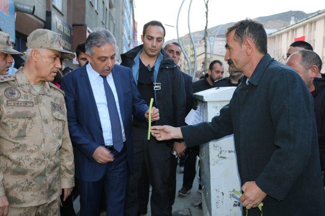 Jandarma Genel Komutanı Orgeneral Çetin, Hakkari'de (2)