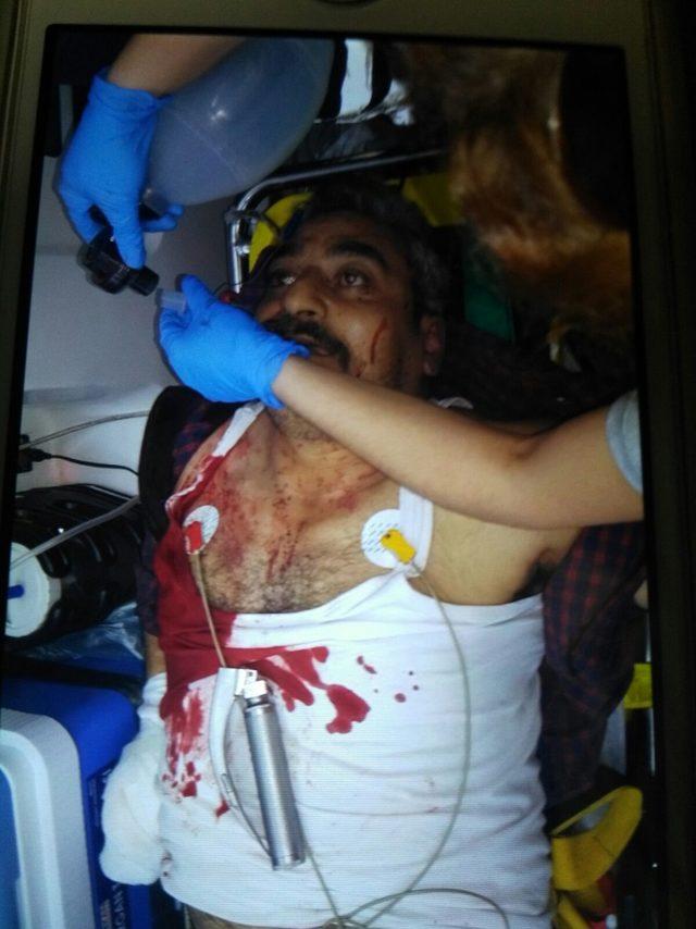 Pazarda 2 kişiyi vurdu, evde yangın çıkarıp, 1 kişiyi rehin aldı (3) - Yeniden