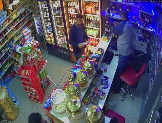 İş yerinden 5 şişe içki çalan zanlı tutuklandı
