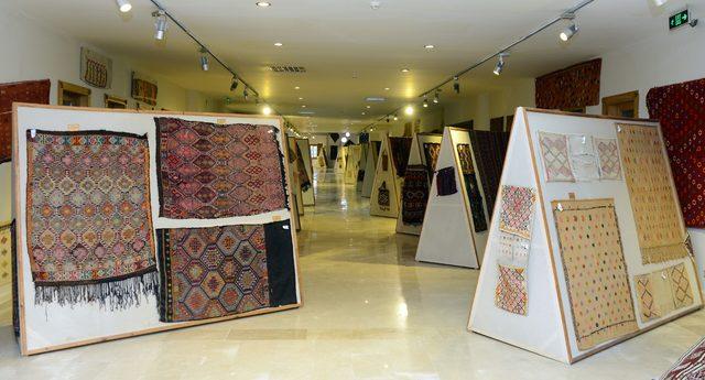 Türkiye'nin en büyük halı ve kilim müzesine yoğun ilgi