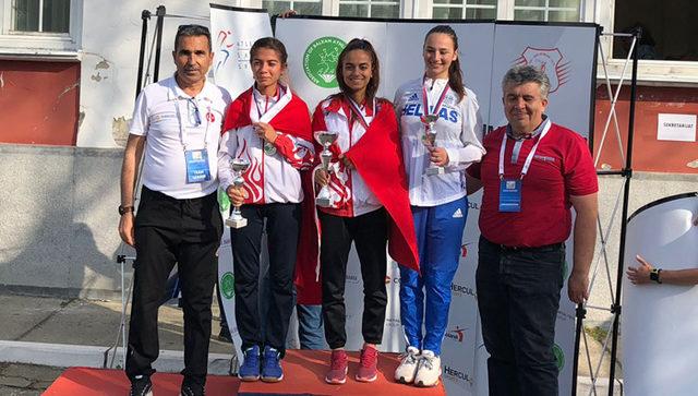 Balkan Yürüyüş Şampiyonası'na Türkiye damga vurdu
