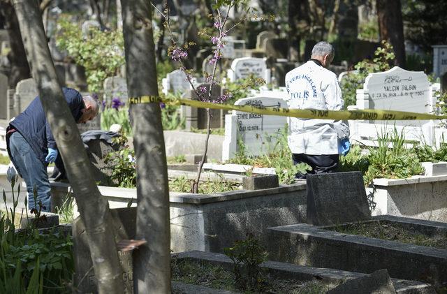 Babasının mezarı başında intihar girişiminde bulundu