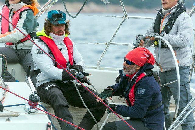 Yelkencilerin mücadelesi nefesleri kesti
