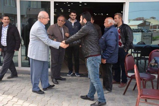 Başkan Albayrak, Tekirdağ'daki Erzurumlu ve Bayburtluları dinledi