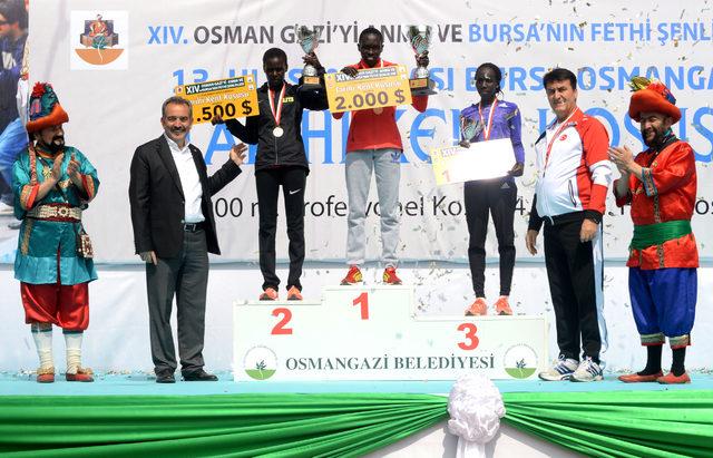 13'üncü Uluslararası Tarihi Kent Koşusu Yarı Maratonu'na Afrikalılar damga vurdu