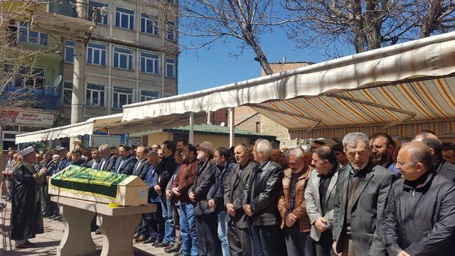 Maliye Bakanı Ağbal, Bayburt'ta cenaze törenine katıldı