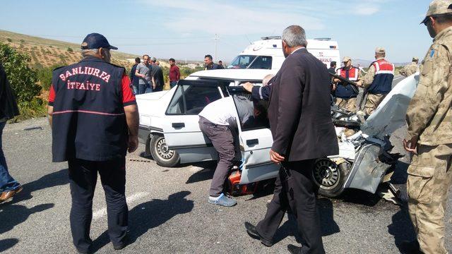Şanlıurfa'da kaza: 2 ölü, 5 kişi yaralı