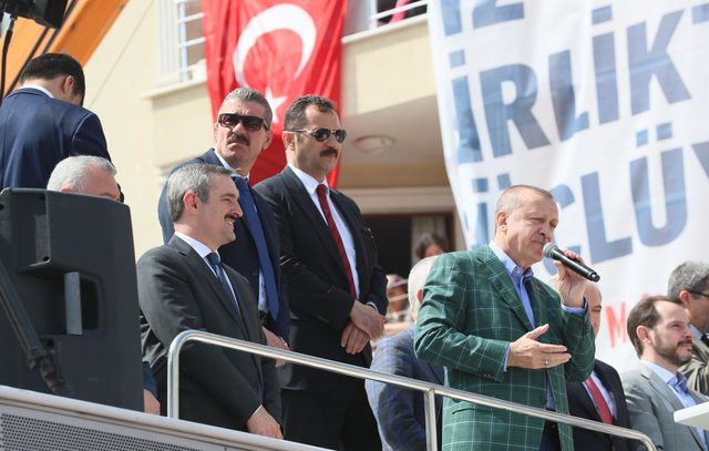 fotoğraflar// Cumhurbaşkanı Erdoğan: Üreten ekonomi yok diyenler elinize dilinize dursun
