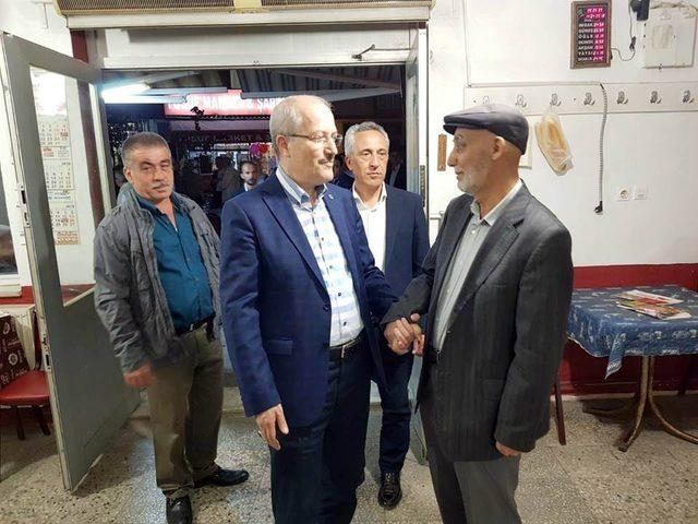 BBB Başkanı Zekai Kafaoğlu Balıkesir'i karış karış geziyor