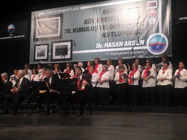 Köy Enstitüleri'nin kuruluşunun 78'inci yılı Büyükçekmece'de kutlandı
