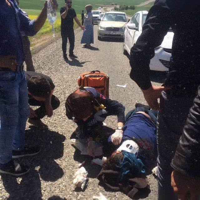 Diyarbakır'da aynı yerde art arda 2 kaza: 2 ölü, 13 yaralı