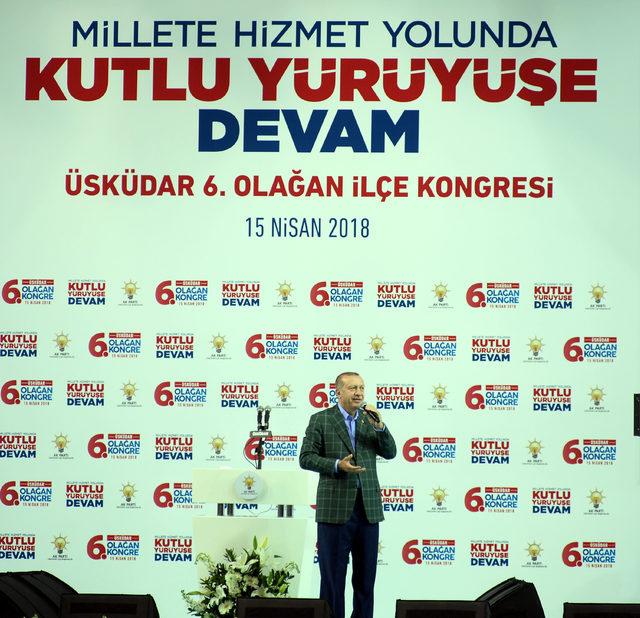 Erdoğan: Kalktılar bu ara bize kur savaşı ilan ettiler