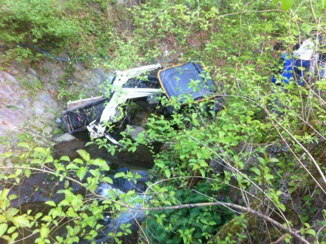 Ordu'da traktör uçuruma yuvarlandı: 1 ölü