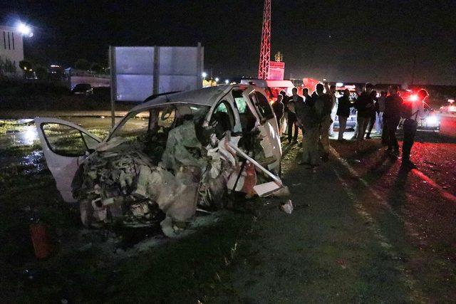 Batman'da trafik kazası: 1 ölü, 7 yaralı