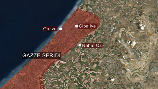 Gazze haritası