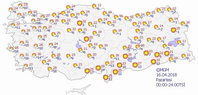 hava durumu harita