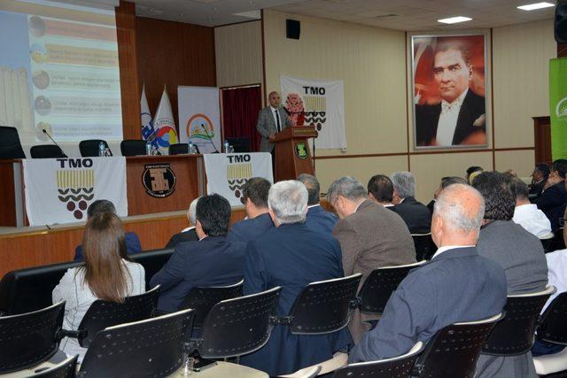 Aydın'da lisanslı depoculuk toplantısı yapıldı