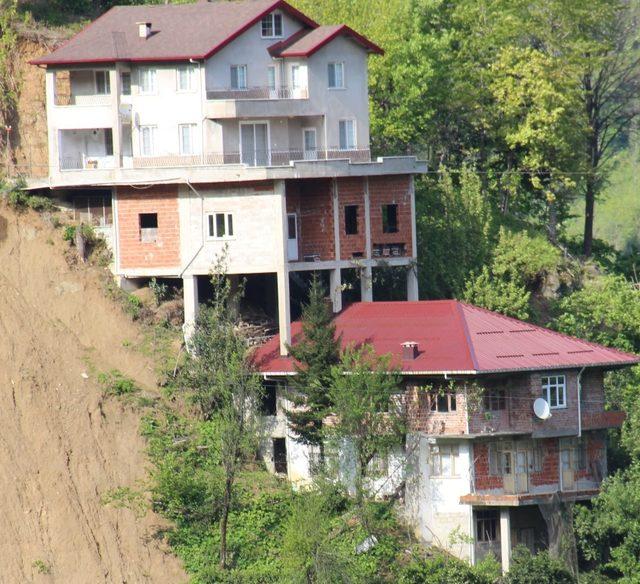 Elverişsiz arazi ilginç ev sahibi yaptı