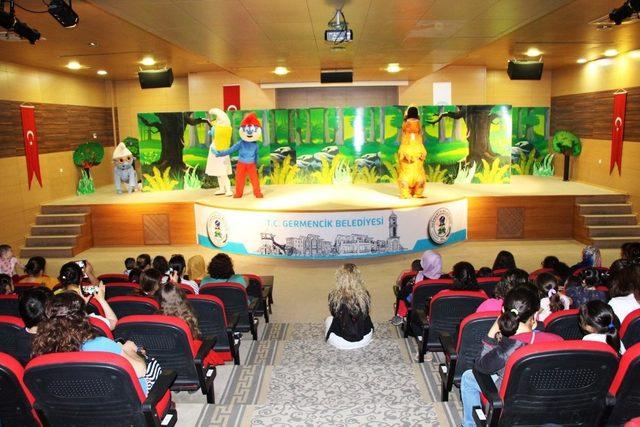 Germencik Belediyesinden çocuklara özel tiyatro