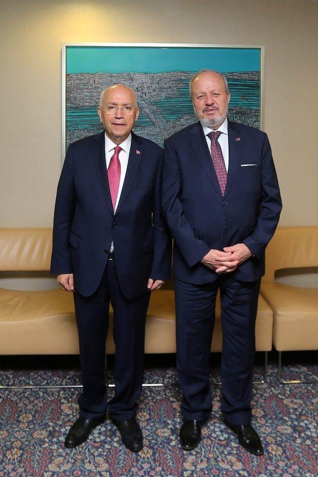 Başkan Yaşar'dan ASO'ya ziyaret