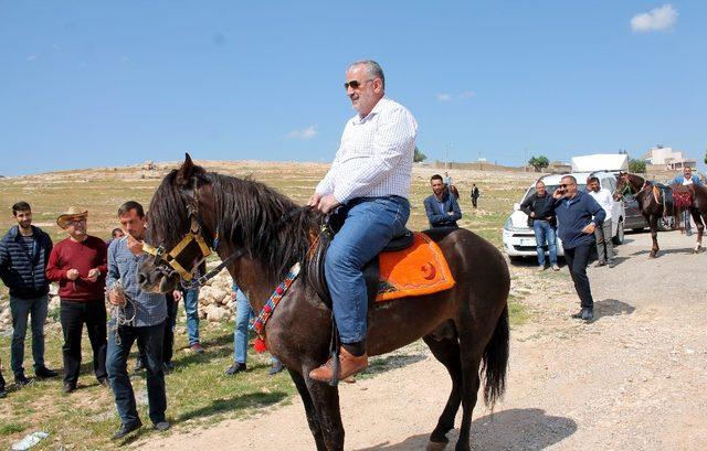Midyat'ta rahvan atları için hipodrom yapılacak