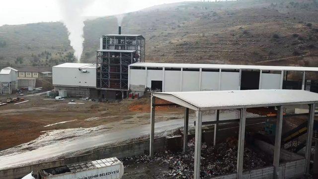 Malatya'da çöpler elektriğe dönüşüyor