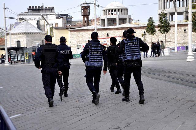 Taksim Meydanı bariyerlerle kapatıldı (1)