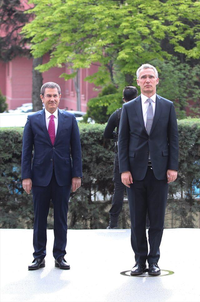 NATO Genel Sekreteri Stoltenberg Ankara'da<br />