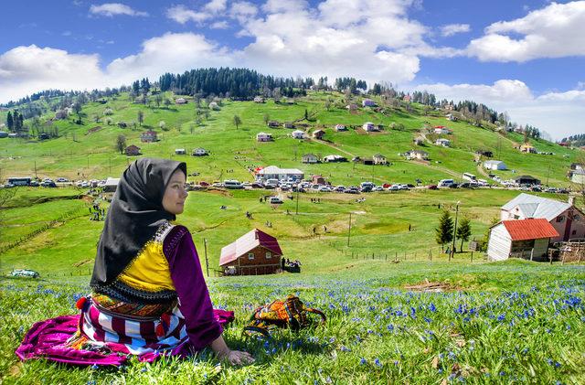 2 haftada 35 bin kişi gezdi, 'Mor Yayla'da ezilen çiçekler erken kayboldu