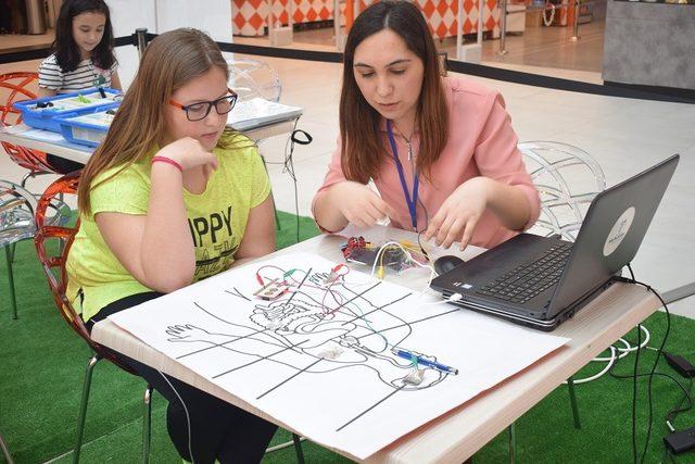 Bilim ve Teknoloj Atölyeleri Özdilek Park'ta