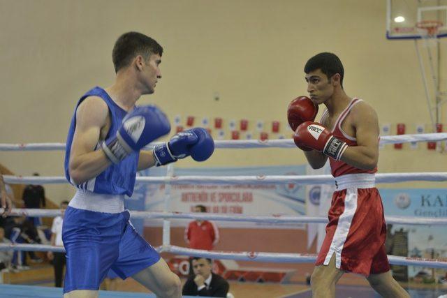 Karaman'da Üniversitelerarası Boks Şampiyonu sona erdi
