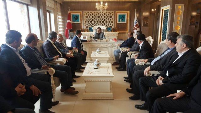 TATSO'dan Başkan Çoban'a ziyaret