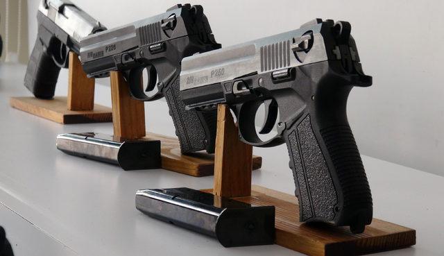 Küçükçekmece'de silah operasyonu