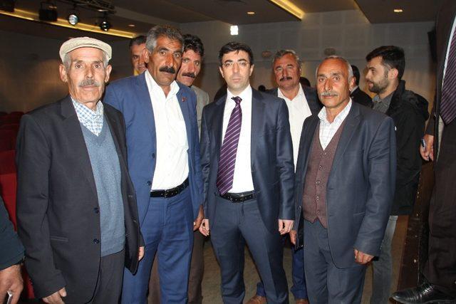 Malazgirt'te 'Köylere Hizmet Götürme Birliği' toplantısı