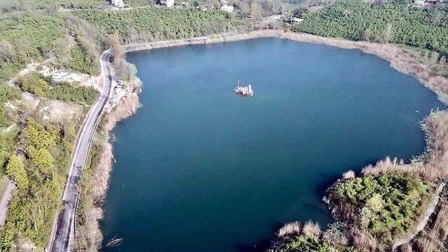 Fatsa Gaga Gölü büyülüyor