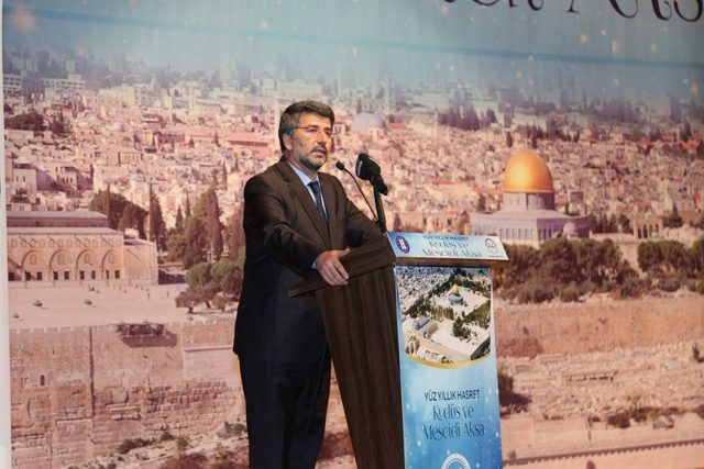 Prof. Dr. Bünyamin Erul: Kudüs bizim ilk kıblemiz, ikinci mabedimiz, üçüncü mescidimiz