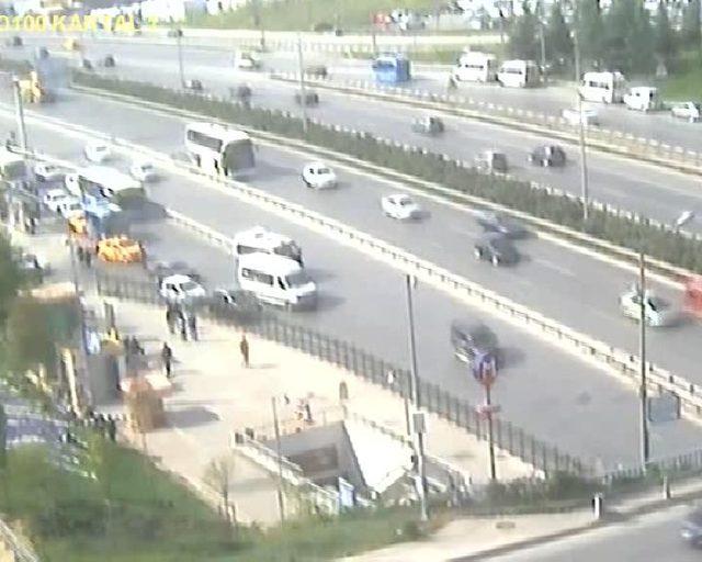 Kartal'da 4 kişinin öldüğü kaza güvenlik kamerasında