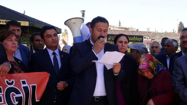 Şanlıurfa'da CHP'den oturma eylemi