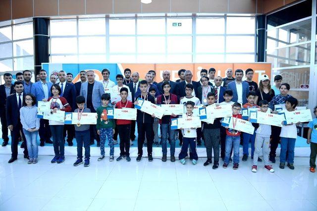 4.Yeşilyurt Ulusal Satranç Turnuvasında ödüller sahiplerini buldu
