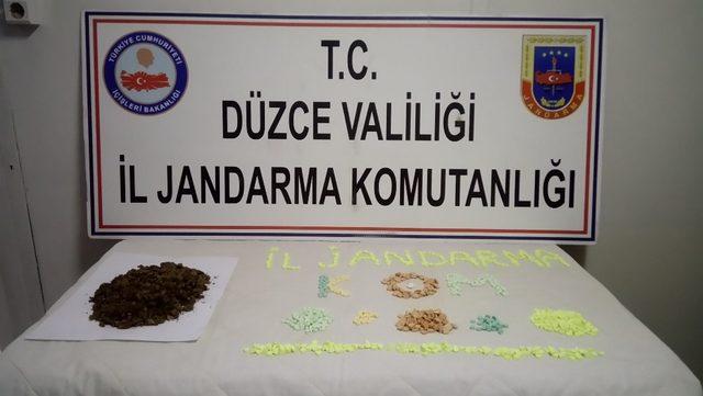 Düzce'de uyuşturucu operasyonu