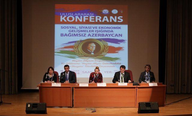 Erciyes Üniversitesi'nde Haydar Aliyev Etkinliği Düzenlendi