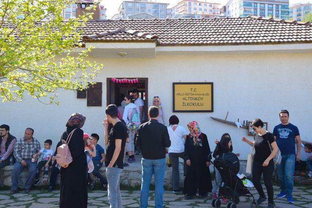 Hafta sonunda Altınköy'ü 10 bin kişi ziyaret etti
